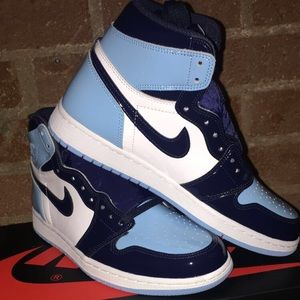 Nike Shoes Air Jordan 1 Retro High Og Unc Blue Chill Poshmark